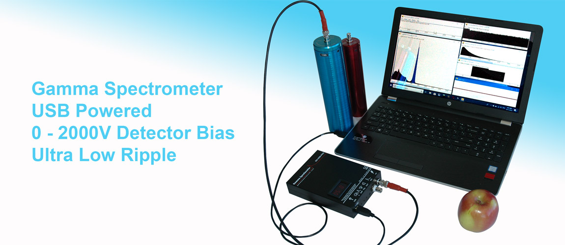 Scintillation Detector with GS-USB-PRO
