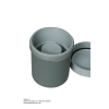 GSM-15 Sturdy Marinelli Beaker with Screw On Lid and Seal